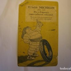 Collezionismo Carta assorbente: PAPEL SECANTE MICHELIN, EN CATALÁN, AÑOS 30.. Lote 207094860