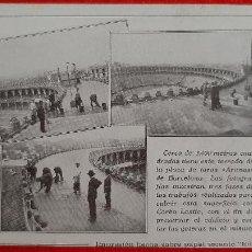 Collectionnisme Papier buvard: PAPEL SECANTE PUBLICIDAD CARBO LASTIC PLAZA TOROS BARCELONA ORIGINAL SJ9. Lote 208751253