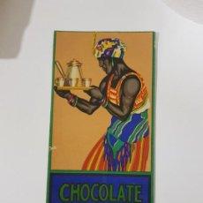 Collectionnisme Papier buvard: ANTIGUO PAPEL SECANTE PUBLICIDAD CHOCOLATES AMATLLER. Lote 217944403