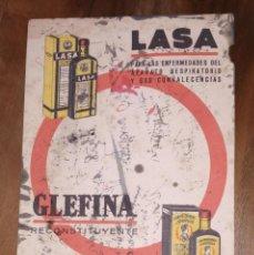 Coleccionismo Papel secante: PAPEL SECANTE GELFINA. LABORATORIOS.. Lote 221990275