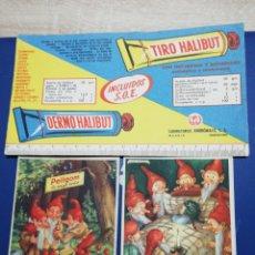Coleccionismo Papel secante: LOTE PAPEL SECANTE, PELIKAN, HALIBUT. Lote 225611453