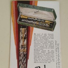 Collectionnisme Papier buvard: RARO PAPEL SECANTE PARKER DUOFOLD DE LUJO. 1930. MEDIDAS: 15,1 X 7,6 CM.. Lote 239711000