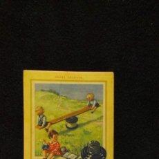 Coleccionismo Papel secante: PAPEL SECANTE PELIKAN - NIÑOS Y BALANCIN. Lote 243834760