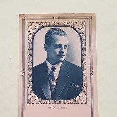 Coleccionismo Papel secante: PAPEL SECANTE ACTOR REGINALD DENNY. CALZADOS IRIS. Lote 244759715