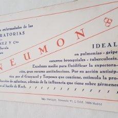 Coleccionismo Papel secante: PAPEL SECANTE CHOCOLATES MAYIN. Lote 244763510