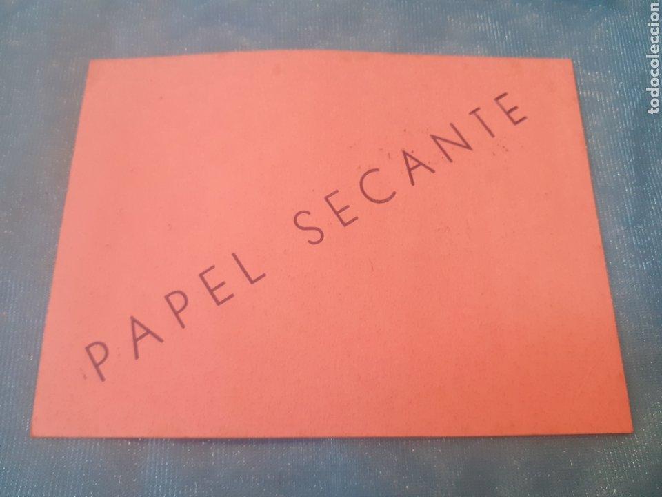 Coleccionismo Papel secante: Papel secante elsa 15cmX11cm - Foto 2 - 244789160