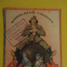 Coleccionismo Papel secante: ANTIGUO PAPEL SECANTE? GADIONAL.DR.FERNANDO BARCELO.MALAGA- MORALES PORRAS.PUENTE GENIL.. Lote 246018880