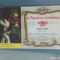 Coleccionismo Papel secante: PAPEL SECANTE PUBLICIDAD LA PAPELERA CATALANA. Lote 246271740
