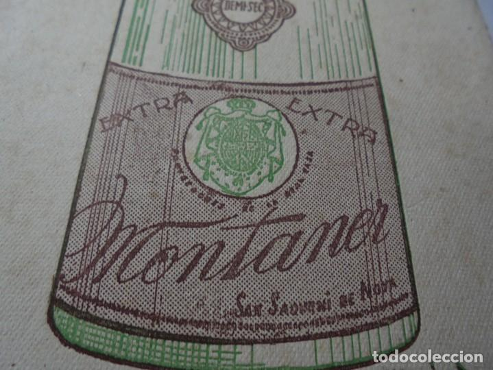 Coleccionismo Papel secante: magnifico antiguo papel secante champan montaner,san sadurni de noya - Foto 4 - 246794835