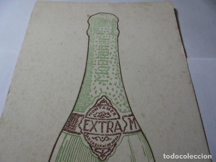 Coleccionismo Papel secante: magnifico antiguo papel secante champan montaner,san sadurni de noya - Foto 5 - 246794835