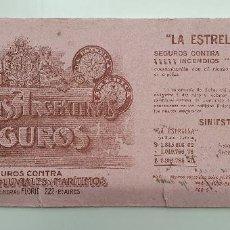 Coleccionismo Papel secante: PAPEL SECANTE COMPAÑIAS ARGENTINAS DE SEGUROS AÑOS 20. Lote 248362455