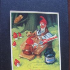 Coleccionismo Papel secante: SECANTE PELIKAN - PELIGOM TINTA - MUY BUEN ESTADO- ENVIO GRATIS. Lote 254980550