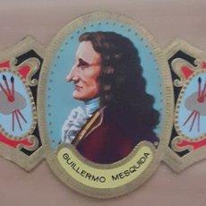 Coleccionismo Papel secante: VITOLA GUILLERMO MESQUIDA PALMA DE MALLORCA 1675-1747. Lote 256097950