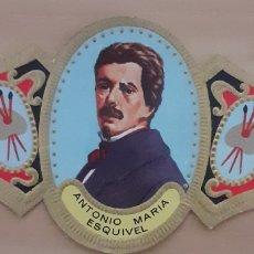 Coleccionismo Papel secante: VITOLA ANTONIO MARÍA ESQUIVEL SEVILLA 1806-1857. Lote 256098200