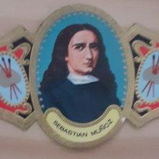 Coleccionismo Papel secante: VITOLA SEBASTIÁN MUÑOZ SEGOVIA 1654-1690. Lote 256099485