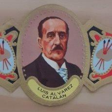 Coleccionismo Papel secante: VITOLA LUIS ÁLVAREZ CATALÁ HELMO ASTURIAS 1836-1901. Lote 256099625
