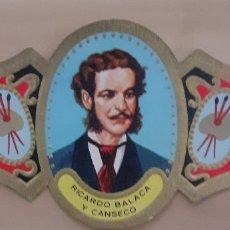 Coleccionismo Papel secante: VITOLA RICARDO BALACA Y CANSECO LISBOA 1844-1880. Lote 256099785