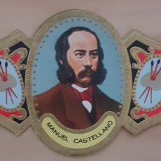 Coleccionismo Papel secante: VITOLA MANUEL CASTELLANO MADRID 1823-1880. Lote 256099900