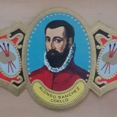 Coleccionismo Papel secante: VITOLA ALONSO SÁNCHEZ COELHO BENIFAIJO VALENCIA 1531-1588. Lote 256100190
