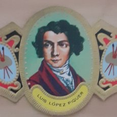 Coleccionismo Papel secante: VITOLA LUIS LÓPEZ PIQUER MADRID 1802-1865. Lote 256100265