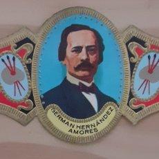Coleccionismo Papel secante: VITOLA GERMÁN HERNÁNDEZ AMORES MURCIA 1823-1894. Lote 256100365