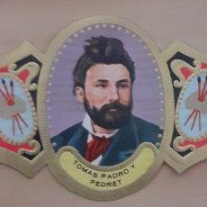 Coleccionismo Papel secante: VITOLA TOMAS PADRÓN Y PEDRET BARCELONA 1845-1877. Lote 256100430