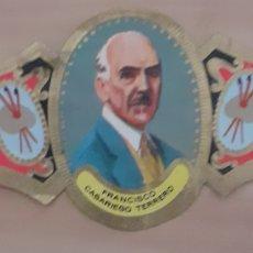 Coleccionismo Papel secante: VITOLA FRANCISCO CASARIEGO TERRERO OVIEDO 1890-1958. Lote 256100635