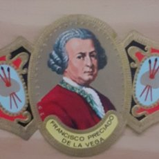 Coleccionismo Papel secante: VITOLA FRANCISCO PRECIADO DE LA VEGA SEVILLA 1713-1789. Lote 256100735