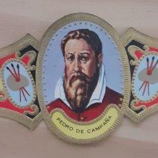 Coleccionismo Papel secante: VITOLA PEDRO DE CAMPAÑA BRUXELAS 1503-1580. Lote 256101060