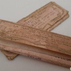 Coleccionismo Papel secante: LIBRITOS DE PAPEL AÑOS 70. Lote 258098485