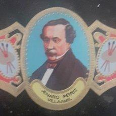 Collectionnisme Papier buvard: VITOLA JENARO PÉREZ VILLAAMIL EL FERROL LA CORUÑA 1807-1854. Lote 259713205