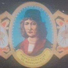 Coleccionismo Papel secante: VITOLA PEDRO GONZÁLEZ DE BERRUGUETE PALENCIA 1440-1504. Lote 262615440