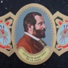 Collezionismo Carta assorbente: VITOLA JOAQUÍN MARTÍNEZ DE LA VEGA ALMERÍA 1846-1905. Lote 264305260
