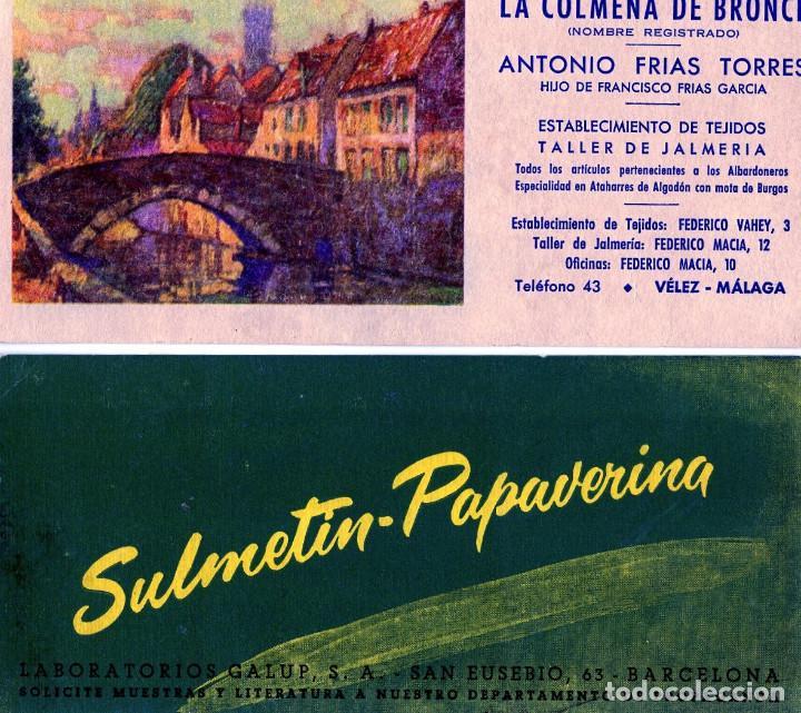 Coleccionismo Papel secante: VEINTIOCHO PIEZAS PAPEL SECANTE DIFERENTES-DOS DE ELLOS POCO USADO,EL RESTO ESTAN NUEVOS SIN USAR . - Foto 2 - 265737699