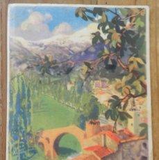 Coleccionismo Papel secante: PAPEL SECANTE DE PUBLICIDAD DE CEREGUMIL, FARMACIA, LABORATORIO FERNANDEZ Y CANIVELL (MALAGA), MIDE. Lote 286625988