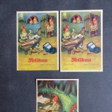 Coleccionismo Papel secante: PELIKAN - 3 SECANTES, VER FOTOS ADICIONALES. Lote 287331953