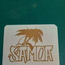 Coleccionismo Papel secante: LUGO SAMOA POLINESIAN BAR POSAVASOS VINTAGE. Lote 287779863