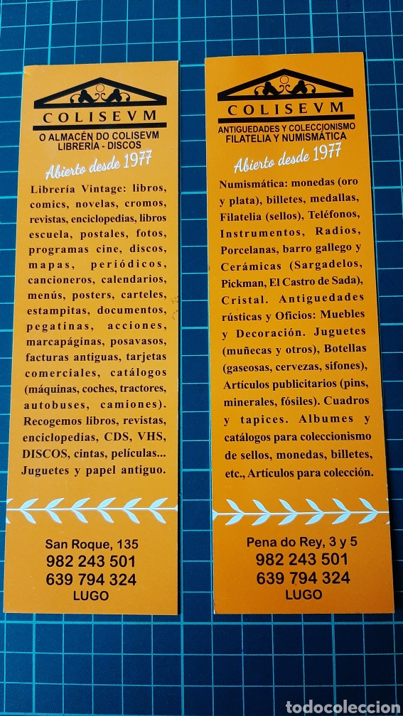 Coleccionismo Papel secante: LUGO PUB AUDITÓRIUM POSAVASOS VINTAGE - Foto 2 - 287782318