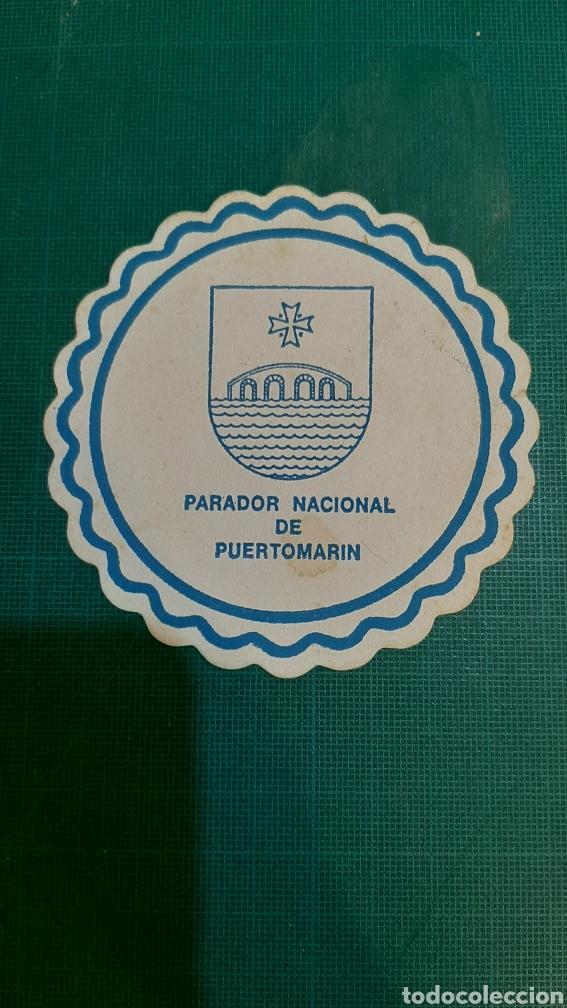 LUGO PUERTOMARIN PARADOR NACIONAL POSAVASOS VINTAGE (Coleccionismo - Papel Secante)