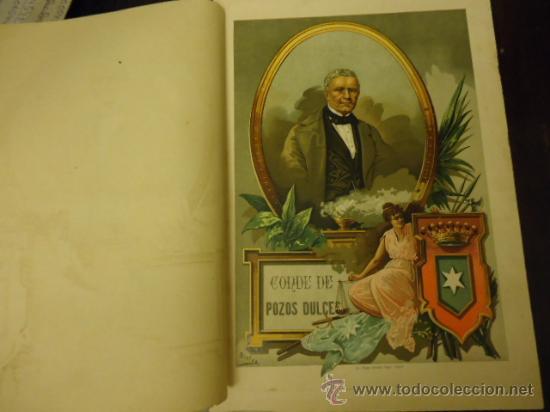 34 X 24 CM ANTIGUA LITOGRAFIA, CONDE DE POZOS DUCES, LIT. FELIPE GONZALEZ ROJAS EDITOR (Coleccionismo en Papel - Varios)