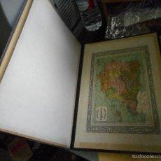 Coleccionismo Papel Varios: ANTIGUO CARPESANO CON MAPA ESPAÑA PENINSULA. Lote 56999133