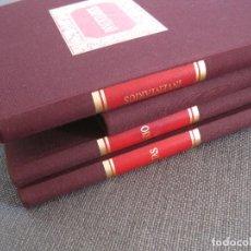 Coleccionismo Papel Varios: LOTE 3 LIBROS CONTABILIDAD--LIBRO INVENTARIOS REGISTRO SOCIOS DIARIO Y ACTAS--NUEVOS--CUADERNO. Lote 62496468
