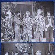 Coleccionismo Papel Varios: LOS RASTELLI. CIRCO. CLOWNS. TONY LEBLANC. Lote 70315301