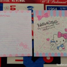 Collectionnisme Papier divers: LETTER SET HOJA DE CARTA HELLO KITTY MADE IN JAPAN SANRIO . Lote 81235072
