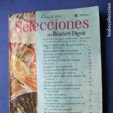 Coleccionismo Papel Varios: SELECCIONES READERS DIGEST ENERO DE 1955 LA REVISTA MAS LEIDA DEL MUNDO PDELUXE. Lote 81498652