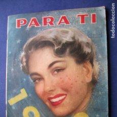 Coleccionismo Papel Varios: PARA TI REVISTA ARGENTINA -VINOS EN CONTRAP. PRECIO 1,50$ -BUENOS AIRES-70PAGS 1952 PDELUXE. Lote 81515656
