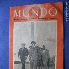 Coleccionismo Papel Varios: MUNDO PRESIDENTE TRUMAN - ATENTADO PRECIO 4PESETAS- Nº549 1950 PDELUXE. Lote 81555304
