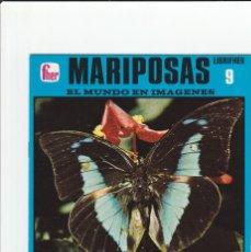 Outros artigos de papel: LIBRIFHER - EL MUNDO EN IMAGENES - Nº 9 MARIPOSAS -LIBRILLO CULTURAL TIPO CROMOS 1978 ED, FHER NUEVO. Lote 82116924