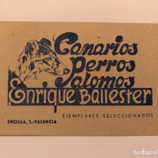 Sammelleidenschaft Andere Papierartikel - VALENCIA,Tarjeta de Visita ANTIGUA - 82251996