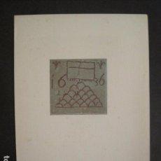 Coleccionismo Papel Varios: NADALA ASOCIACION BIBLIOFILOS BARCELONA-1947- EJEMPLAR NUM. 72 -VER FOTOS -(V-10.488). Lote 82643448
